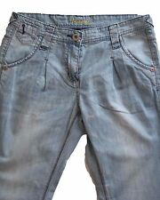 New Womens Blue Tapered NEXT Jeans Size 12 Petite Leg 28 LABEL FAULT RRP £32