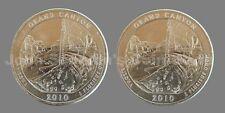2010 P&D Grand Canyon National Park Quarters 2-Coin Set - Choice BU