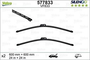 VALEO Wiper Blade Front Kit For BENTLEY Continental FLYING SPUR 05-10