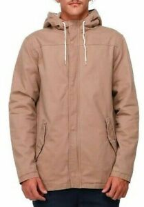 Long Lost Scout Surf Sherpa Zip Hooded Winter Jacket, Size M. NWT, RRP $99.99.