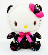 "Sanrio Hello Kitty in a Bear Suit 6"" Plush KT Designer Exclusive Kidrobot Rare"