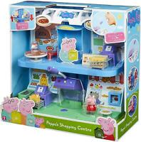 Peppa Pig - PEPPA'S SHOPPING CENTRE - Working Lift & MICROPHONE - NEW
