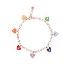 Multicolour Rose Gold 533353 Mabina Women's Bracelet Hearts