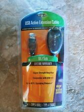 Belkin 16' USB Active Extension Cable Type A Male / Type A Female (F3U130-16)