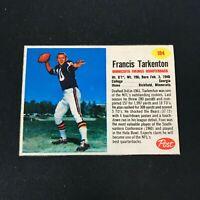 1962 Post #184 FRANCIS FRAN TARKENTON RC Minnesota Vikings EXMT ~JN10A