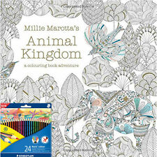 Animal Kingdom A Colouring Book Adventure By Millie Marotta Pencils