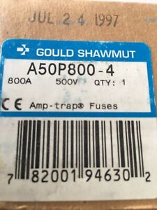 Gould Shawmut A50P800 fuse