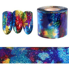 Gradient Starry Sky Nail Foil Holographic Paper Decals Decor Nail Art Sticker 1M