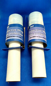 Two (2) Jot Protective Wrap Film 4in X 300 Feet