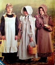 UC McCalls 9424 Costume Girl Little House Prairie Holly Hobbie Pioneer Dress