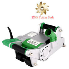 220V Handheld Electric Brick Wall Chaser Floor Wall Groove Cutting Machine