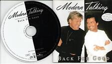 Modern Talking ‎– Back For Good - The 7th Album CD 1998