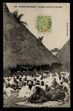 SENEGAL FRANCE COLS.1906 PPC...PRAYER...PHOTOGRAPHERS
