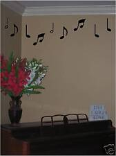 Music notes- vinyl wall decals transfer, stickers decor