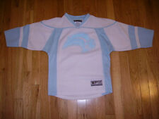 REEBOK BUFFALO SABRES BABY BLUE YOUTH GIRLS NHL REPLICA HOCKEY JERSEY SMALL 7-8