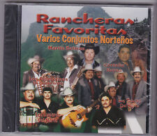 "*CD-RANCHERAS FAVORITAS-""Various Conjuntos"" Tejano Tex Mex Latin- CD SEALED (#93"
