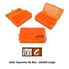 Mikael Frodin Salar suprême Fly Box Double Large SUPB-DL * 2018 Stock *