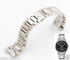 22mm Solid Stainless Steel bracelet band strap (FITS) TAG Heuer CARRERA