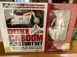Toy Story Signature Collection Duke Caboom Stunt Set w/Certificate NEW in Box