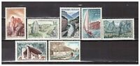 s24855a) FRANCE 1965 MNH** Tourism 7v