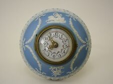 Wedgwood jasperware Pale Blue Montre Horloge Wallclock Antik °