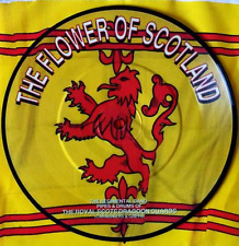 """El Royal Scots Dragón guardias-la flor de Escocia (7"""") (Imagen Disco)"""