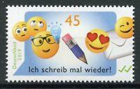 Germany 2019 MNH Emoji Emojis 1v Set Greetings Stamps