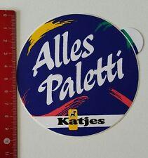 Aufkleber/Sticker: Katjes - Alles Paletti (05021722)