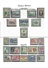 Southern Rhodesia.  Collection of 81 stamps, 1924 to 1964, Mint & Used.