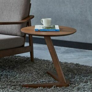 Side Table Furniture Round Coffee Table For Living Room Small Bedside End Table