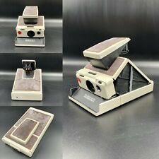 Polaroid SX-70 Land Camera, Using SX-70 Film - White & Dark Brown - Fully tested