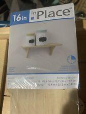 In Place Bracket Shelf