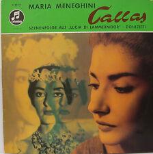 "MARIA MENEGHINI CALLAS DONIZETTI LUCIA DI LAMMERMOOR GOBBI SERAFIN 12"" LP (d765)"