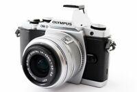 Olympus OM-D E-M5 16.1MP 14-42mm Lens Kit Silver [Exc+++] w/Flash,Strap [593]
