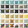 Bohemian Ethnic Geometric Cotton Linen Pillow Case Square Cushion Cover