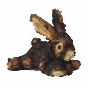 Pet Lou 00839 Medium Plush Dog Chew Toy, 8-Inch Rabbit