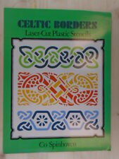 Celtic Borders Laser-Cut Plastic Stencils by Spinhoven, Co