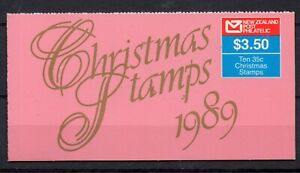 NEW ZEALAND STAMP BOOKLET 1989 $3.50 CHRISTMAS SG SB52  MINT NEVER HINGED