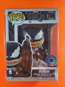 Winged Venom Funko Pop 749 Pop In A Box Sticker Exclusive With Protector