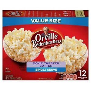 Orville Redenbachers Gourmet Popcorn Movie Theater Butter Mini Bags