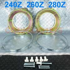DATSUN FAIRLADY 240Z 260Z 280Z S30 432 HEADLIGHT BRACKET + RIM + SCREW SET