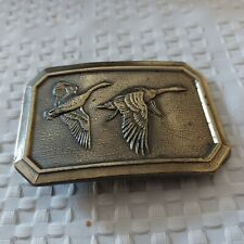 """The Great American Buckle Co. Chicago 1976 Pair of Geese. Measures 3 1/4"""" by 2"""""""