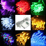 10-100LED Battery Operated/Solar Fairy String Light Wedding Christmas Party Xmas