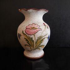 Vase poterie céramique grès fait main art nouveau déco design PN France N2891