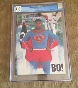 BO JACKSON 1991Beckett FOOTBALL #10 CGC 7.0 NEWSSTAND
