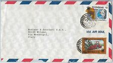 MAPS / AGRICULTURE -- BARBADOS -  POSTAL HISTORY - AIRMAIL COVER to ITALY 1983