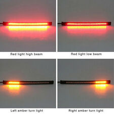 Universal Motorcycle Tail Brake Stop Turn Signal Integrated 32 LED Light Stripx0