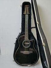 Ovation 1866 Legend 12-String Acoustic-Electric Guitar wOHSC Low Action