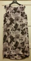 BNWT* NEXT* 8(UK) FLORAL PRINT DRESS, SHIFT SLIGHT DIP HEM BACK,£45