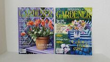 Country Living Gardener April 2002 and Spring 2004 Magazine Issues